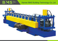 PLC Control Ceiling Channel Metal Stud And Track Roll Forming Machine With 2 Years Warranty