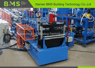 New Galvanized Steel C Purlin Roll Forming Machine 600mm Coil Maximum Width