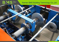 Customization G550S Hi Tensile Colorbond Steel Gutter Machines With PLC System