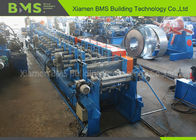 C Lip Channel Roll Forming Machine C Size Auto Change Hydraulic Punching