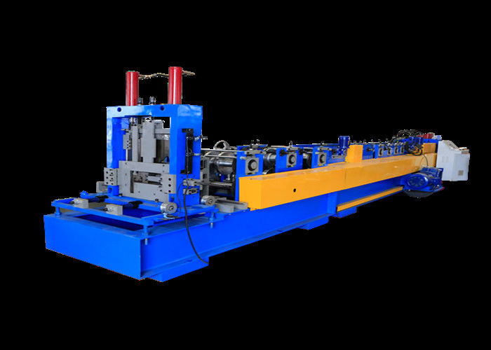 Automatic Change Type CZ Purlin Roll Forming Machine 1.0-3.0mm Thickness