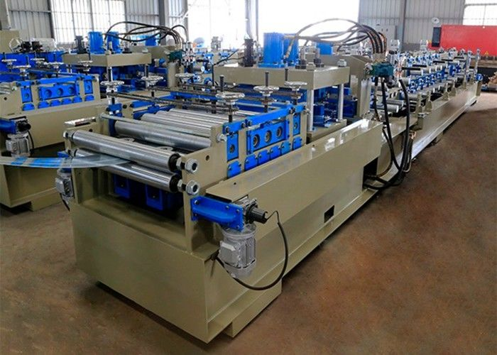 Industrial Steel CZ Purlin Roll Forming Machine Automatic Fast Changed Size