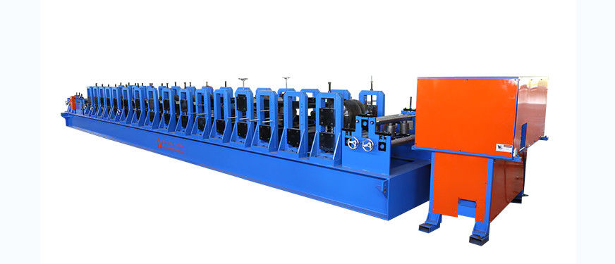 0.8-2.0mm Thickness C Purlin Forming Machine with Free Standing Structure