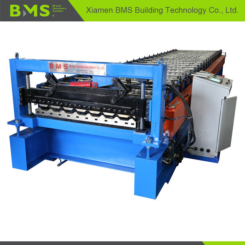 Automated Metal Roof Panel Cold Roll Forming Machine Low Energy Consumption