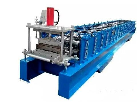 Steel Joint Hidden Wall Panel Cold Roll Forming Machine Low Noise PLC Control