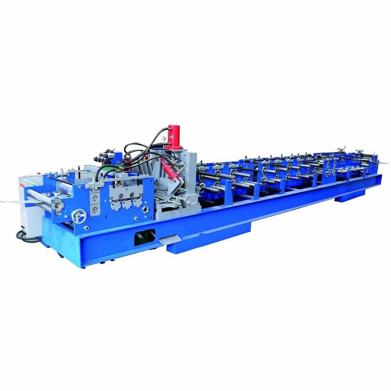 16 Station C Purlin Roll Forming Machine , Steel Frame Forming Machine