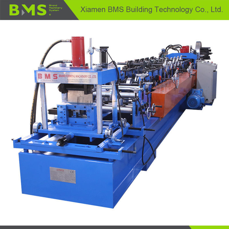 Interchangeable Sheet Cold CZ Purlin Roll Forming Machine High Speed Automatic