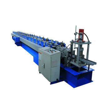 Color Material Roller Shutter Door Roll Forming Machine For Roller Shutter Guide