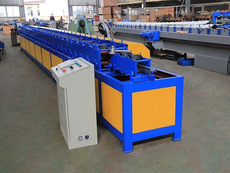 Automated Rolling Shutter Door T Profile Roll Forming Machine CE / ISO Certificate