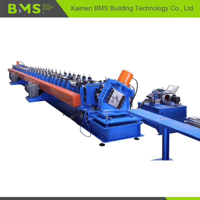 12-15m/Min Shelving Rack Roll Forming Machine With Computer Control System
