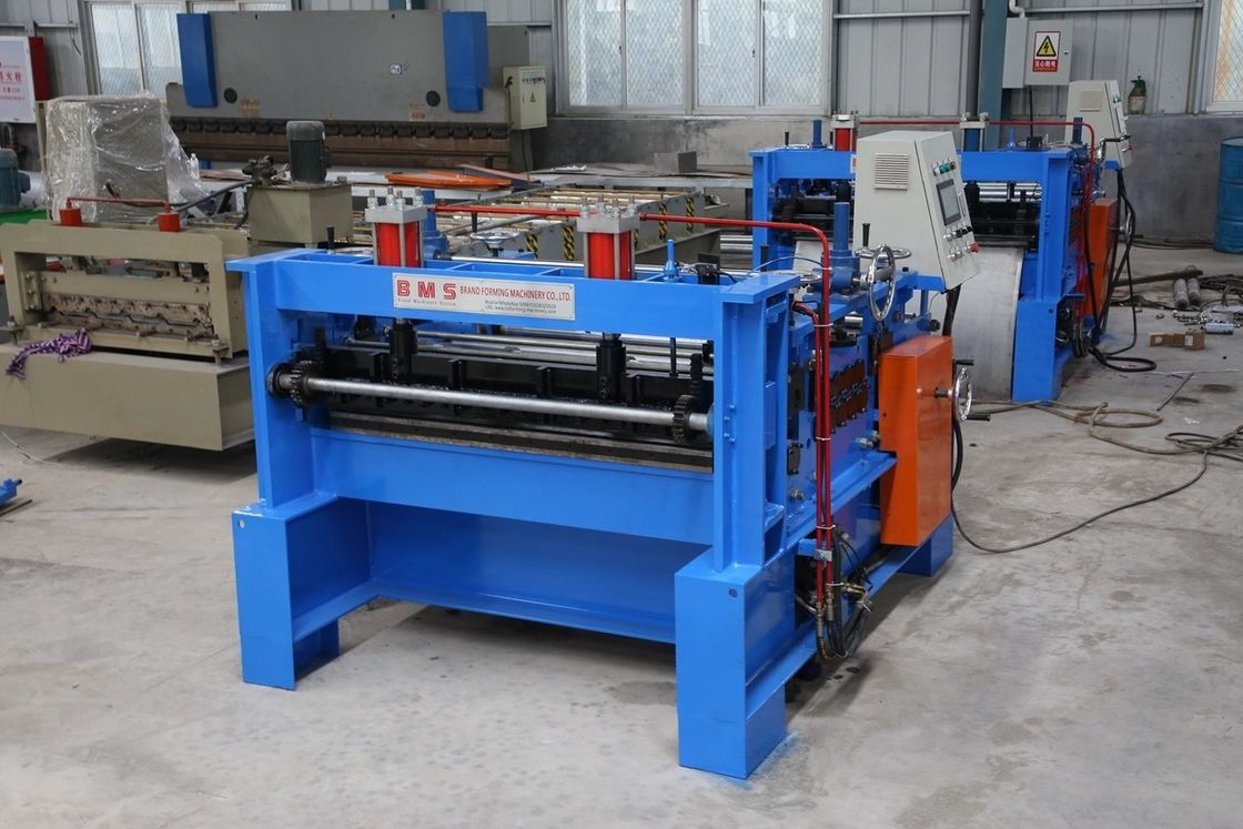 Heavy Duty Cut To Length Line Machine 245-550MPa Yield Strength For Steel Coil
