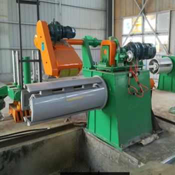 Automatic Metal Slitting Line Machine , Cut To Length Line Machine High Speed