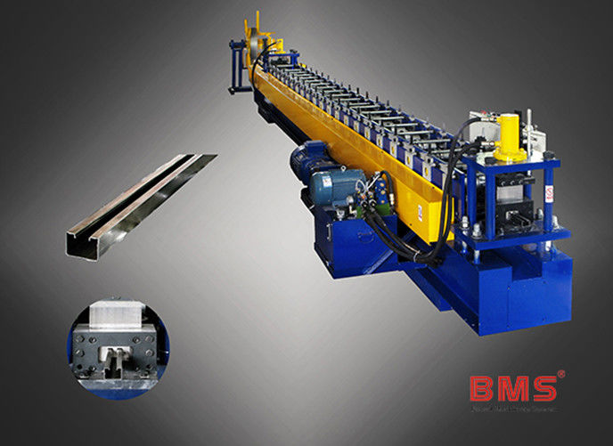 C40 Type Metal Stud And Track Roll Forming Machine For Floor Decking Sheets