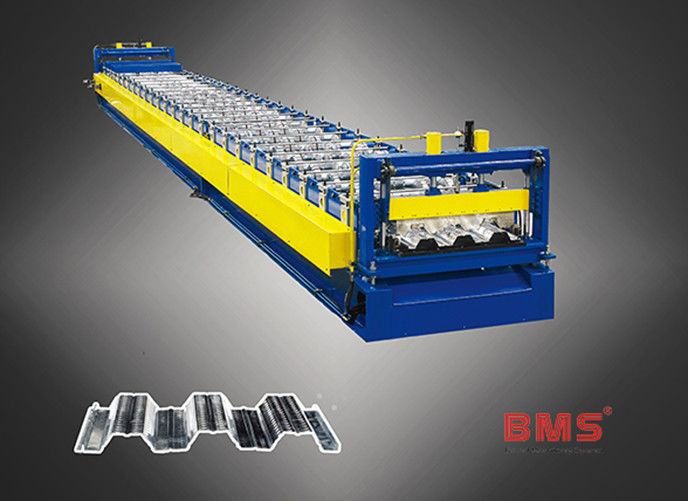 Sheets Floor Deck Roll Forming Machine Use ASTM 615A G60 Galvanized Steel