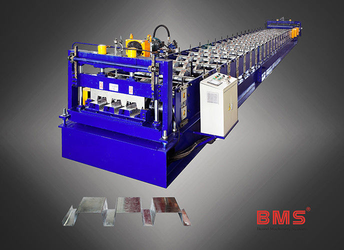 Steel Floor Deck Roll Forming Machine , Roll Forming Equipment With Imported Brand